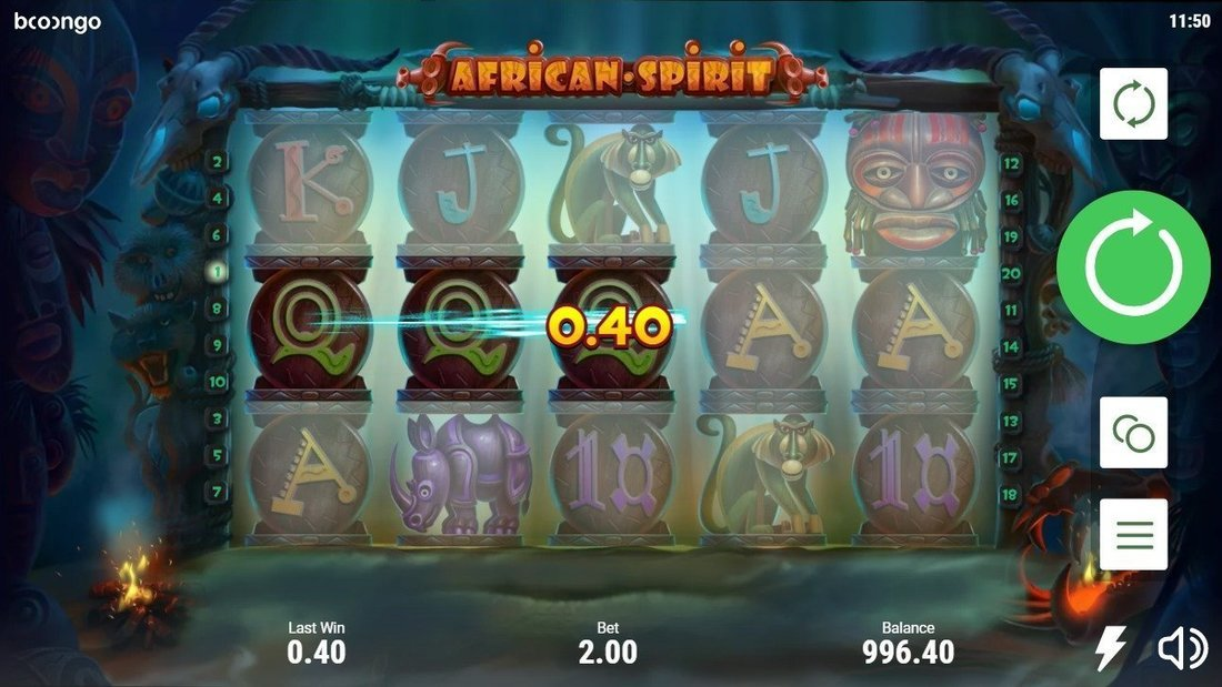 African Spirit Slot Online